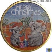 1 Dollar - Elizabeth II (4th Portrait - Merry Christmas) -  reverse