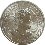2 Dollars - Elizabeth II (6th Portrait - Kookaburra Bullion) -  obverse