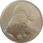 2 Dollars - Elizabeth II (6th Portrait - Kookaburra Bullion) – reverse