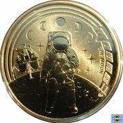 1 Dollar - Elizabeth II (4th Portrait - Moons) -  reverse