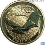1 Dollar - Elizabeth II (4th Portrait - Ghost Bat) -  reverse