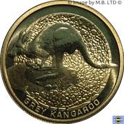 1 Dollar - Elizabeth II (4th Portrait - Grey Kangaroo) -  reverse