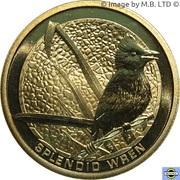 1 Dollar - Elizabeth II (4th Portrait - Splendid Wren) -  reverse
