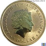 1 Dollar - Elizabeth II (4th Portrait - Lest We Forget - RAN) -  obverse