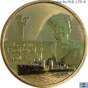 1 Dollar - Elizabeth II (4th Portrait - Lest We Forget - RAN) -  reverse