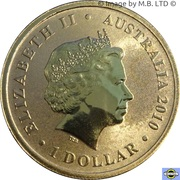 1 Dollar  - Elizabeth II (4th Portrait - Centenary of Powered Flight) -  obverse