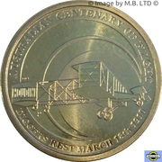 1 Dollar  - Elizabeth II (4th Portrait - Centenary of Powered Flight) -  reverse