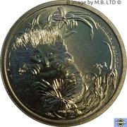 1 Dollar - Elizabeth II (4th Portrait - Bush Babies - Echidna) -  reverse