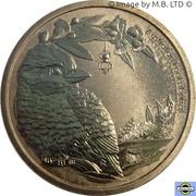 1 Dollar - Elizabeth II (4th Portrait - Bush Babies - Kookaburra) -  reverse