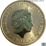 1 Dollar - Elizabeth II (4th Portrait - Macquarie Lighthouse) -  obverse