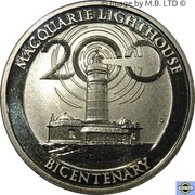 1 Dollar - Elizabeth II (4th Portrait - Macquarie Lighthouse) -  reverse