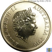 1 Dollar - Elizabeth II (4th Portrait - Heard & McDonald Island) – obverse