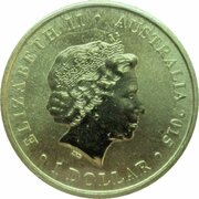 1 Dollar - Elizabeth II (4th Portrait - Centenary of Australian Lighthouses) -  obverse
