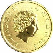 1 Dollar - Elizabeth II (4th Portrait - Young Collectors - BMX Riding) -  obverse