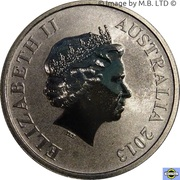 1 Dollar - Elizabeth II (4th Portrait - Young Collectors - Skateboarding) -  obverse