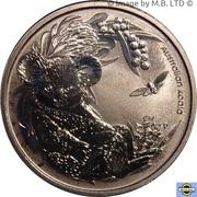 1 Dollar - Elizabeth II (4th Portrait - Bush Babies - Koala) – reverse