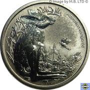 1 Dollar - Elizabeth II (4th Portrait - Bush Babies - Kangaroo) – reverse