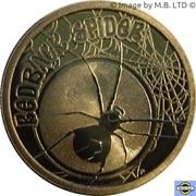 1 Dollar - Elizabeth II (4th Portrait - Young Collectors - Redback Spider) – reverse