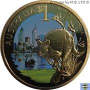 1 Dollar - Elizabeth II (4th Portrait - Western Australia) – reverse