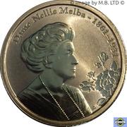 1 Dollar - Elizabeth II (4th Portrait - Dame Nellie Melba) – reverse