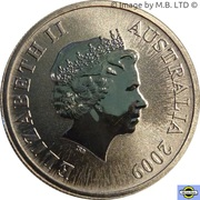1 Dollar - Elizabeth II (4th Portrait - Australian Capital Territory) – obverse