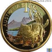 1 Dollar - Elizabeth II (4th Portrait - Tasmania) – reverse