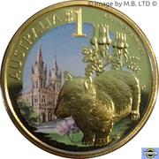 1 Dollar - Elizabeth II (4th Portrait - South Australia) – reverse