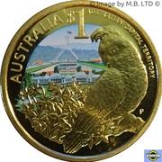 1 Dollar - Elizabeth II (4th Portrait - Australian Capital Territory) – reverse