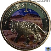1 Dollar - Elizabeth II (4th Portrait - Mammal Fossil Sites) – reverse