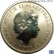 1 Dollar - Elizabeth II (4th Portrait - Lest We Forget - Submarines) -  obverse