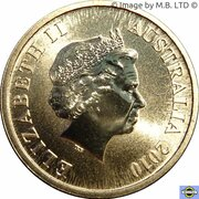 1 Dollar - Elizabeth II (4th Portrait - Great Barrier Reef) – obverse