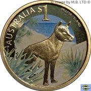1 Dollar - Elizabeth II (4th Portrait - Fraser Island) – reverse