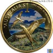 1 Dollar - Elizabeth II (4th Portrait - Lord Howe Island ) – reverse