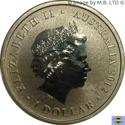 1 Dollar - Elizabeth II (4th Portrait - Lest We Forget - Nurses) -  obverse