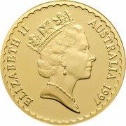 150 Dollars - Elizabeth II (3rd Portrait - Kangaroo Paw - Gold Proof) -  obverse