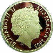200 Dollars - Elizabeth II (4th Portrait - Mallee Fowl - Gold Proof) -  obverse