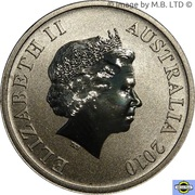 1 Dollar - Elizabeth II (4th Portrait - Shark Bay) – obverse
