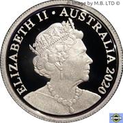 5 Cents - Elizabeth II (6th portrait - Fine Silver Proof) -  obverse