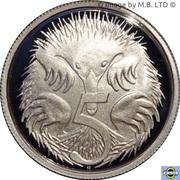 5 Cents - Elizabeth II (6th portrait - Fine Silver Proof) -  reverse
