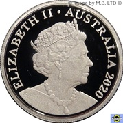 10 Cents - Elizabeth II (6th Portrait - Fine Silver Proof) -  obverse