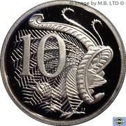 10 Cents - Elizabeth II (6th Portrait - Fine Silver Proof) -  reverse