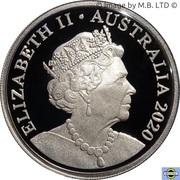 20 Cents - Elizabeth II (6th Portrait - Fine Silver Proof) -  obverse