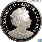 1 Dollar - Elizabeth II (6th Portrait - Fine Silver Proof) -  obverse