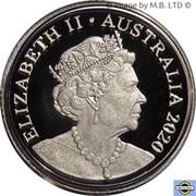 2 Dollars - Elizabeth II (6th portrait - Fine Silver Proof) -  obverse