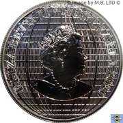 1 Dollar - Elizabeth II (6th Portrait - Beneath the Southern Skies - Silver Bullion Coin) -  obverse