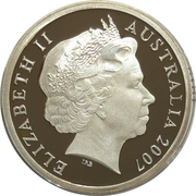 5 Dollars - Elizabeth II (4th Portrait - Sydney Harbour Bridge) -  obverse