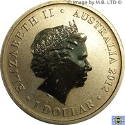 1 Dollar - Elizabeth II (4th Portrait - Young Collectors - Sailfish) – obverse