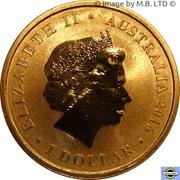 1 Dollar - Elizabeth II (4th Portrait - Dirk Hartog Australian Landing) -  obverse
