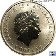 1 Dollar - Elizabeth II (4th Portrait - Australian Light Horse) -  obverse