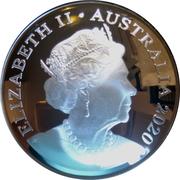 5 Dollars - Elizabeth II (6th Portrait - Australian Olympic Team) -  obverse
